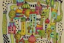 Inspiráló rajzok-sablonok / by Kovácsné Berta Margit