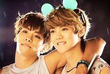 Kpop Boys / Kpop boys, cute, adorable, and crazy / by 캐라