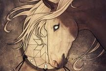 Horses / Westernspice.deviantart.com / by WesternSpice