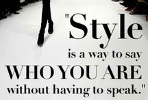 Say It with Fashion / by Per Lei Boutique