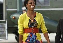 Michelle Obama fashions / by Regina Rogers