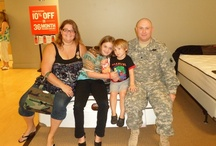 Operation Homefront Event - Florence, KY / Thank you to all of the 10 military families who stopped by the store today. We honor all of you, and are humbled by your bravery,  determination and poise. Thank you. / by Value City Furniture