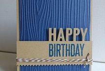 Birthday cards / by Jean Nunnally