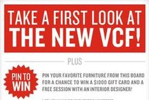 First Look Sweepstakes / Introducing our new catalog, First Look. To celebrate, we're inviting you to take part in our Pinterest sweepstakes. Pin your favorite furniture from this board to your page and include the hashtag #NewVCF for a chance to win a $1000 gift card and two hours with an interior designer. American Signature Fans, copy and paste this link into your URL to go to our ASF page to enter. http://pinterest.com/amsigfurniture / by Value City Furniture