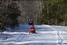 Snowmobiling Clam Lake, Wisconsin / Clam Lake, Wisconsin snowmobiling on Chequamegon National Forest snowmobile trails in Northern Wisconsin. / by Clam Lake Property Management LLC