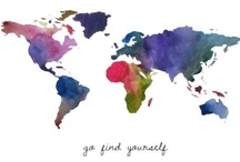 ✿Passport✿ / Show the beautiful places you've been or would love to visit one day! (LARGE PINS ONLY PLEASE) For invites go to ✿Messages & Invites✿ board | No Duplicates | No Soliciting!  / by Caterina