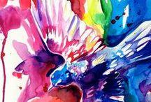 Rainbow / colors of the rainbow / by Love Art House