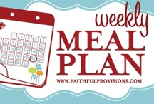 Meal Planning / Planning your meals can save you money - time - gas (not as many trips to the store) your family will be much healthier - just plain good stewardship / by vicki massie