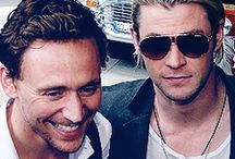 Thorki/Hiddlesworth / Brotp.  Everything here is SFW / by Ermah Gerd