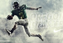 Oregon Ducks Football / Design / All kinds of visual swag covering the fastest, coolest and best dressed sports team on the planet. / by Michel Michon