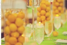 Citrus Colored Wedding  / by Karen Cruse