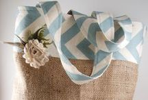 I love burlap! / All things burlap!  So simple and pretty! / by Kelly Benefield