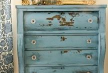 Beautifully Distressed/Upcycled Furniture / I love the look of distressed furniture!  If only I had the time.  :) / by Kelly Benefield