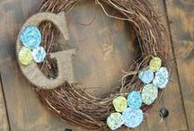Wreaths / by Kelly Benefield