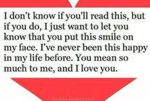 Love / I love you...<3 / by G A B B Y E V A N S