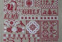 Cross Stitch - Redwork / by Ingrid Duffy