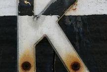 l o g o s, signs &  T Y P E / by Jasna Pleho - Studio JASNA KRASNA