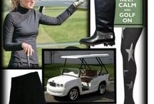 Golf necessities / What to where on the course for fun and comfort. / by Karen McGuinness