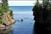 Kayaking / When you're next to the largest freshwater lake on the planet, you want to get out on it! These are our favorite access points, rental companies, and tours.  / by Caribou Highlands Lodge on Lutsen Moutains