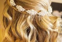 Bridal Hair / Sweep your hair back or leave it flowing down, here are our many inspirations.  / by Caribou Highlands Lodge on Lutsen Moutains