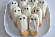 Halloween Food and Treats / Sppoky Treats for Goblins...Witches...and Ghouls / by Cyndee