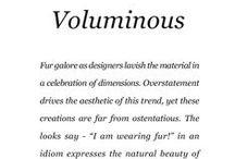 Voluminous / Saga Furs lookbook A/W 2014-15 / by Saga Furs