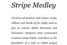 Stripe Medley / Saga Furs lookbook A/W 2014-15 / by Saga Furs