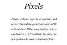 Pixels / Saga Furs lookbook A/W 2014-15 / by Saga Furs