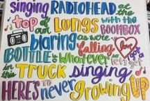 Song quotes (Life) / Not specific i listen to all kinds of music so you'll see alot of cool stuff I like in here!!! Repin!! Rasta, country, rock, rap,love, indie, dance / by Jen Larkin
