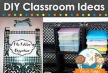DIY Classroom / DIY projects for your pre-k, preschool, or kindergarten classroom. Inexpensive things you can make for your classroom to save money. Visit me at www.pre-kpages.com for more inspiration for early education! / by Vanessa @pre-kpages.com