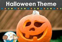 HALLOWEEN THEME / Halloween learning activities, crafts, costumes, food, games, printables and resources for young children in your preschool, pre-k, or kindergarten classroom. Pumpkins, bats, spiders, halloween costumes, treats and more! Visit me at www.pre-kpages.com for more inspiration for early education! / by Vanessa @pre-kpages.com