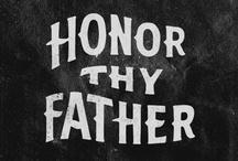 Daddy / February 3, 1960 - July 11, 2012 / by Ezra Ryan