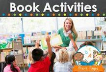 BOOK ACTIVITIES / Learning activities to go along with favorite books in your preschool, pre-k, or and kindergarten classroom.  Printables and ideas for using popular children's literature to extend early learning. / by Vanessa @pre-kpages.com