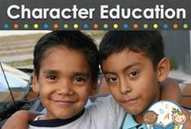 character education / Ideas and resources for character education in the preschool or kindergarten classroom / by Vanessa @pre-kpages.com