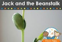 JACK AND THE BEANSTALK ACTIVITIES / Jack and the Beanstalk fairy tale learning activities, ideas, printables and resources for young children in your preschool, pre-k, or kindergarten classroom.  / by Vanessa @pre-kpages.com