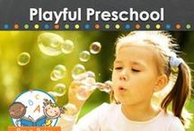 Playful Preschool / Ideas and activities for creating a playful preschool experience for young children. / by Vanessa @pre-kpages.com