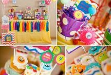 Party, Party, Party!!! / Ideas for different themed children and adult parties / by Diane Gratman
