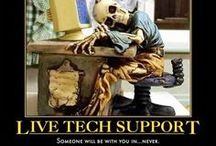 Calling #$%&@!Tech Support! - Customer Service / Tech support & related issues ~ Computer humor . / by ExtremeMonsoon