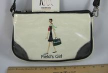 Vintage girls handbag/change purse/suitcase / Vintage child's handbag/luggage  / by Diane Yacopino