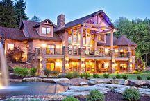 Mountain cabin / by Chris #mandime
