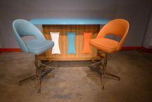 Retro bars..carts..stools / Vintage bars  Board full / by Diane Yacopino