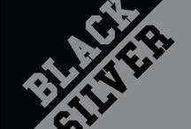 Black & Silver / by IMC Sport Novelties