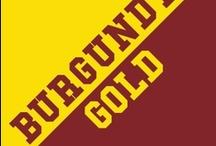 Burgundy & Gold / by IMC Sport Novelties