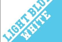 Light Blue & White / by IMC Sport Novelties