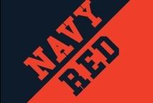 Navy & Red / by IMC Sport Novelties