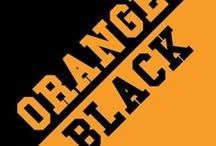 Orange & Black / by IMC Sport Novelties