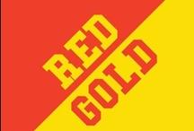 Red & Gold / by IMC Sport Novelties