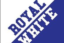 Royal & White / by IMC Sport Novelties