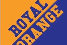 Royal & Orange / by IMC Sport Novelties