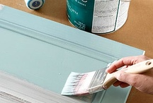 Painting furniture and the home / Painting tips and methods / by Marilyn Patapoff